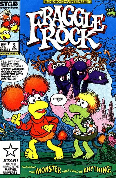 Fraggle Rock #3 Comic Books - Covers, Scans, Photos  in Fraggle Rock Comic Books - Covers, Scans, Gallery