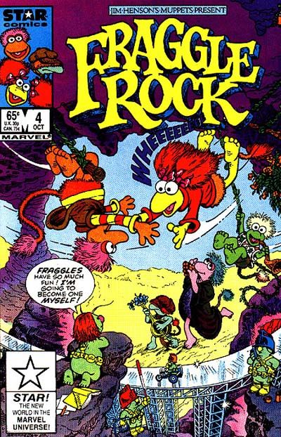 Fraggle Rock #4 Comic Books - Covers, Scans, Photos  in Fraggle Rock Comic Books - Covers, Scans, Gallery