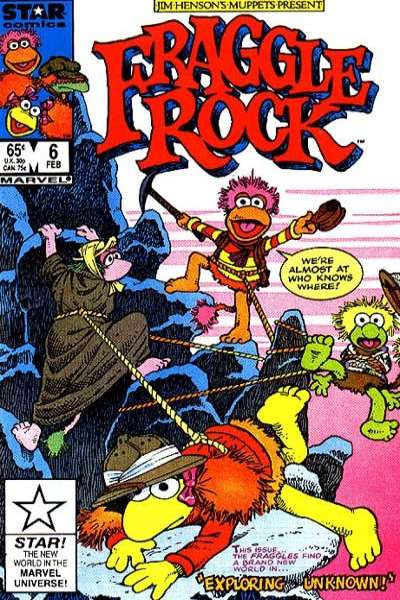 Fraggle Rock #6 Comic Books - Covers, Scans, Photos  in Fraggle Rock Comic Books - Covers, Scans, Gallery