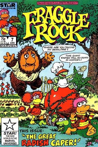 Fraggle Rock #7 Comic Books - Covers, Scans, Photos  in Fraggle Rock Comic Books - Covers, Scans, Gallery