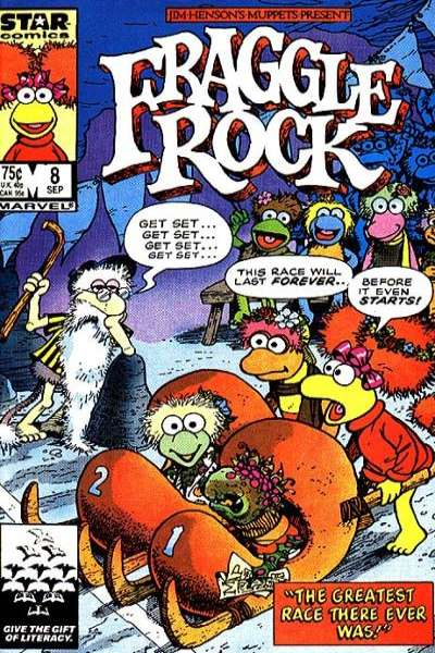 Fraggle Rock #8 Comic Books - Covers, Scans, Photos  in Fraggle Rock Comic Books - Covers, Scans, Gallery