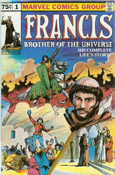 Francis: Brother of the Universe comic books