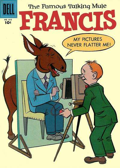 Francis: The Famous Talking Mule #11 comic books - cover scans photos Francis: The Famous Talking Mule #11 comic books - covers, picture gallery