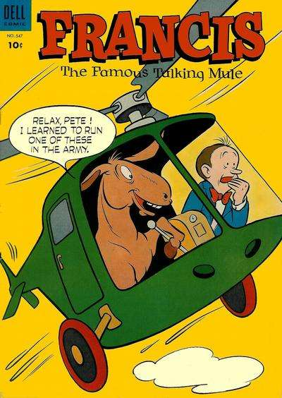 Francis: The Famous Talking Mule #4 Comic Books - Covers, Scans, Photos  in Francis: The Famous Talking Mule Comic Books - Covers, Scans, Gallery