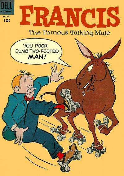 Francis: The Famous Talking Mule #5 Comic Books - Covers, Scans, Photos  in Francis: The Famous Talking Mule Comic Books - Covers, Scans, Gallery