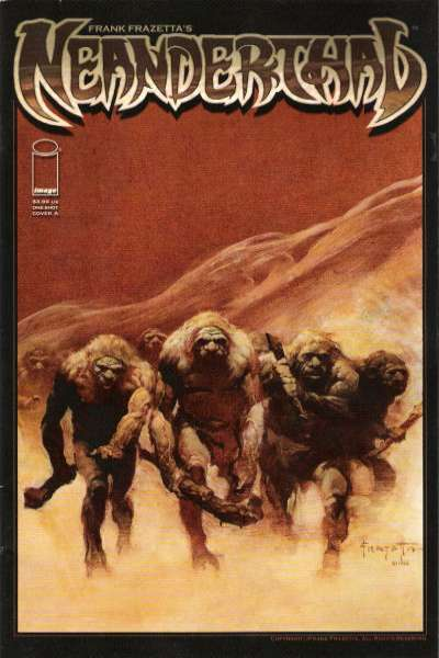 Frank Frazetta's Neanderthal #1 Comic Books - Covers, Scans, Photos  in Frank Frazetta's Neanderthal Comic Books - Covers, Scans, Gallery