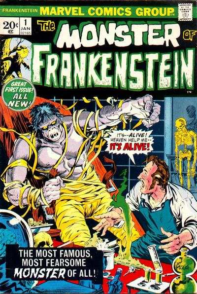 Frankenstein #1 comic books -