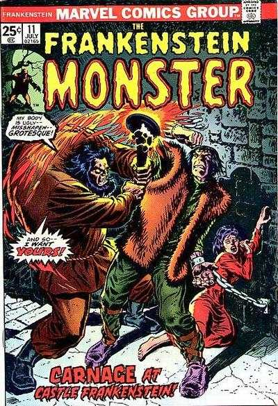 Frankenstein #11 Comic Books - Covers, Scans, Photos  in Frankenstein Comic Books - Covers, Scans, Gallery