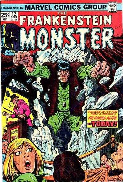Frankenstein #12 Comic Books - Covers, Scans, Photos  in Frankenstein Comic Books - Covers, Scans, Gallery