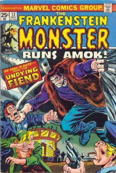 Frankenstein #13 Comic Books - Covers, Scans, Photos  in Frankenstein Comic Books - Covers, Scans, Gallery