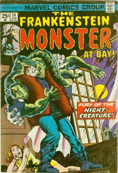 Frankenstein #14 Comic Books - Covers, Scans, Photos  in Frankenstein Comic Books - Covers, Scans, Gallery