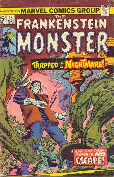 Frankenstein #15 Comic Books - Covers, Scans, Photos  in Frankenstein Comic Books - Covers, Scans, Gallery