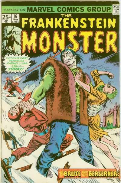 Frankenstein #16 Comic Books - Covers, Scans, Photos  in Frankenstein Comic Books - Covers, Scans, Gallery