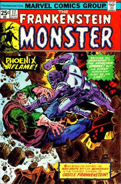 Frankenstein #17 Comic Books - Covers, Scans, Photos  in Frankenstein Comic Books - Covers, Scans, Gallery