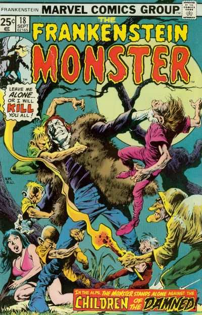 Frankenstein #18 Comic Books - Covers, Scans, Photos  in Frankenstein Comic Books - Covers, Scans, Gallery