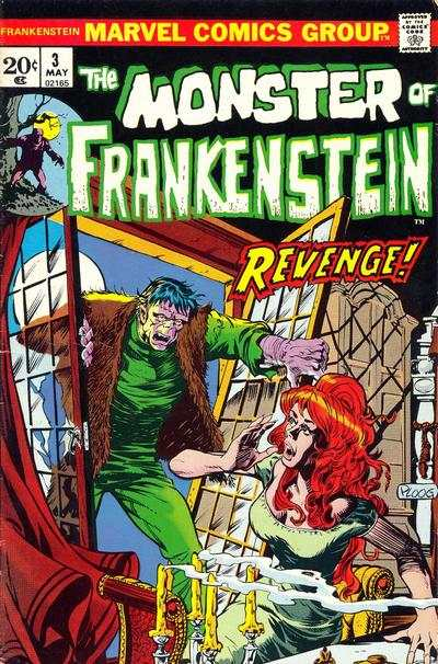 Frankenstein #3 Comic Books - Covers, Scans, Photos  in Frankenstein Comic Books - Covers, Scans, Gallery