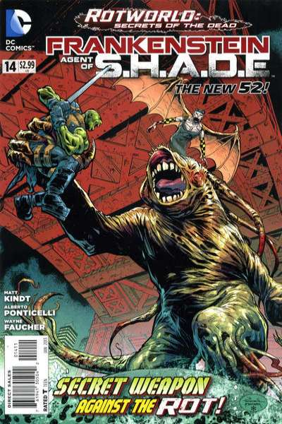 Frankenstein: Agent of S.H.A.D.E. #14 comic books for sale