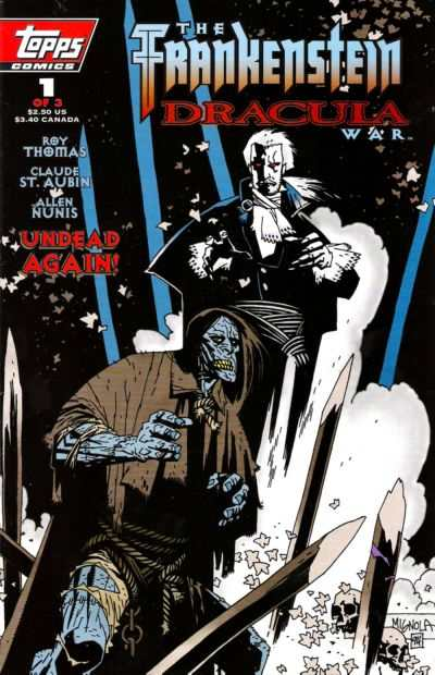 Frankenstein/Dracula War #1 comic books for sale
