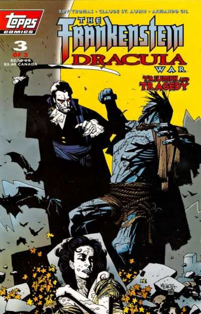 Frankenstein/Dracula War #3 Comic Books - Covers, Scans, Photos  in Frankenstein/Dracula War Comic Books - Covers, Scans, Gallery