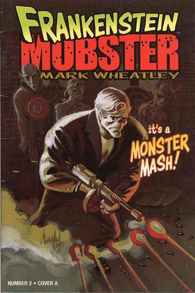 Frankenstein Mobster #2 Comic Books - Covers, Scans, Photos  in Frankenstein Mobster Comic Books - Covers, Scans, Gallery