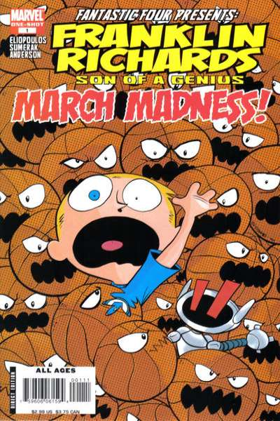 Franklin Richards: March Madness #1 comic books - cover scans photos Franklin Richards: March Madness #1 comic books - covers, picture gallery