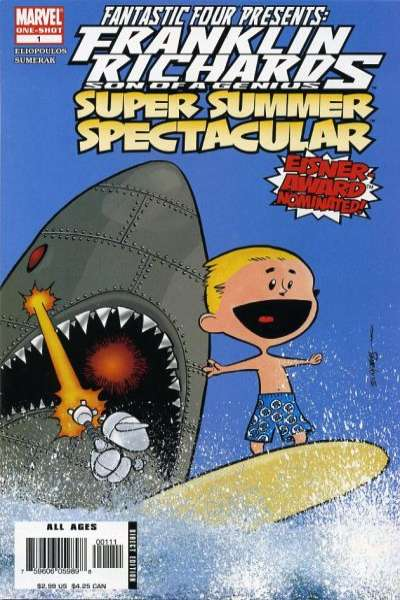 Franklin Richards: Super Summer Spectacular #1 comic books for sale