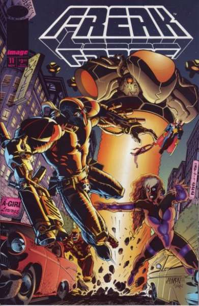 Freak Force #11 comic books for sale