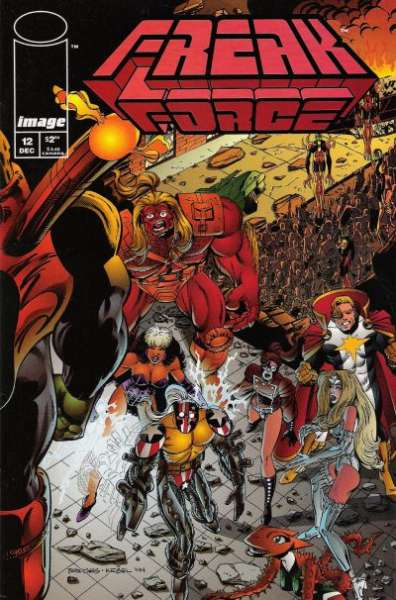 Freak Force #12 comic books for sale