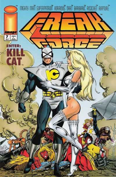 Freak Force #7 comic books for sale