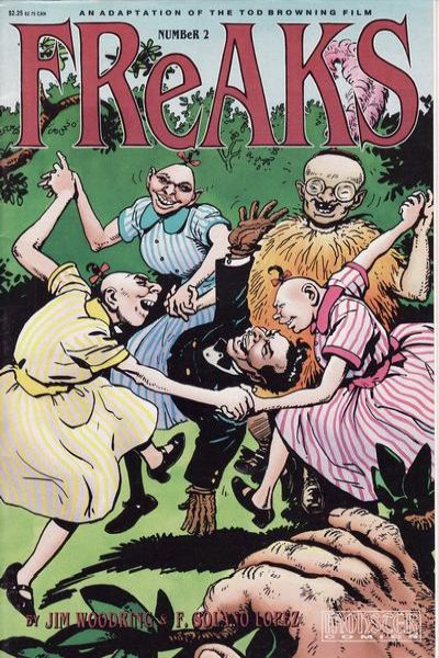 Freaks #2 Comic Books - Covers, Scans, Photos  in Freaks Comic Books - Covers, Scans, Gallery