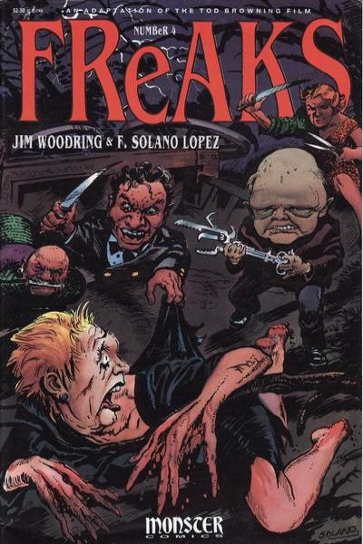 Freaks #4 Comic Books - Covers, Scans, Photos  in Freaks Comic Books - Covers, Scans, Gallery