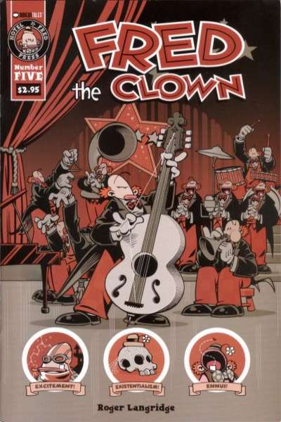 Fred the Clown #5 comic books for sale