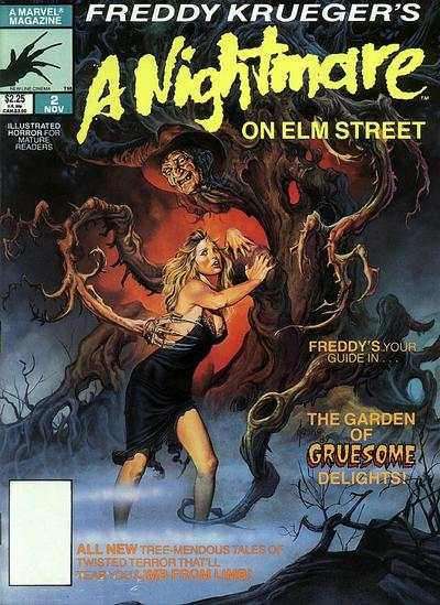 Freddy Krueger's A Nightmare on Elm Street comic book ...