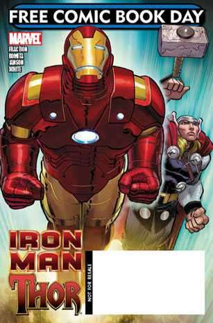 Free Comic Book Day 2010: Iron Man/Thor #1 comic books for sale