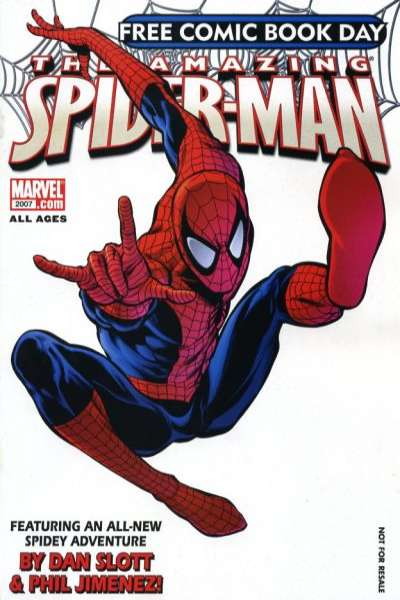 Free Comic Book Day: Spider-Man 2007 comic books
