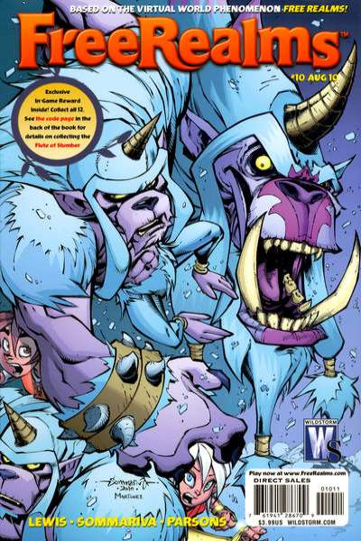 Free Realms #10 comic books for sale