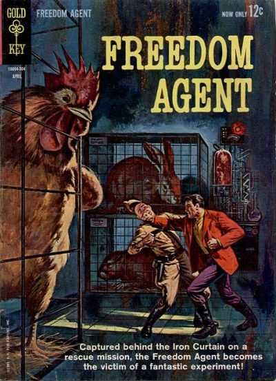 Freedom Agent #1 comic books - cover scans photos Freedom Agent #1 comic books - covers, picture gallery
