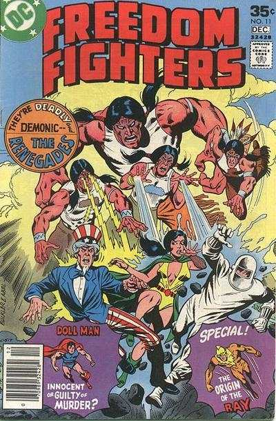 Freedom Fighters #11 Comic Books - Covers, Scans, Photos  in Freedom Fighters Comic Books - Covers, Scans, Gallery