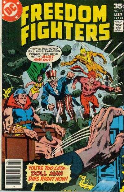 Freedom Fighters #12 comic books - cover scans photos Freedom Fighters #12 comic books - covers, picture gallery