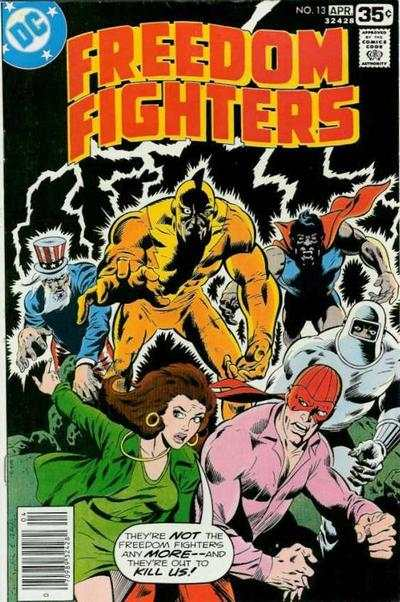 Freedom Fighters #13 comic books for sale
