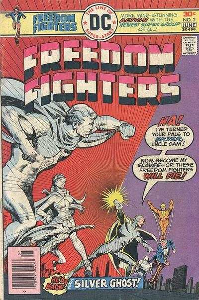 Freedom Fighters #2 Comic Books - Covers, Scans, Photos  in Freedom Fighters Comic Books - Covers, Scans, Gallery