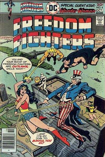 Freedom Fighters #4 comic books for sale