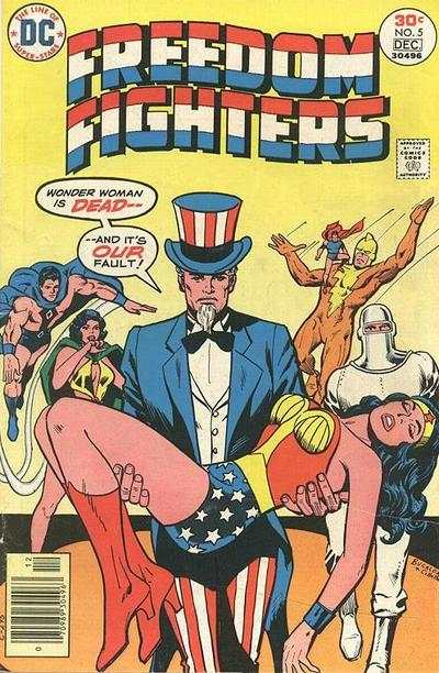 Freedom Fighters #5 comic books - cover scans photos Freedom Fighters #5 comic books - covers, picture gallery