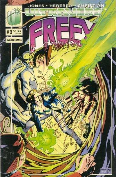 Freex #2 comic books for sale