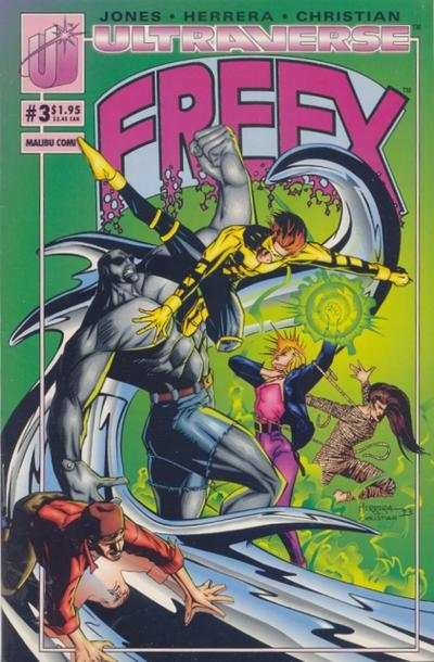 Freex #3 comic books for sale