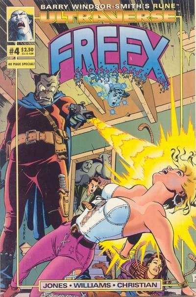 Freex #4 comic books for sale