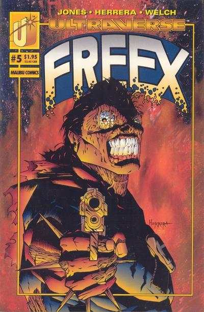 Freex #5 comic books for sale
