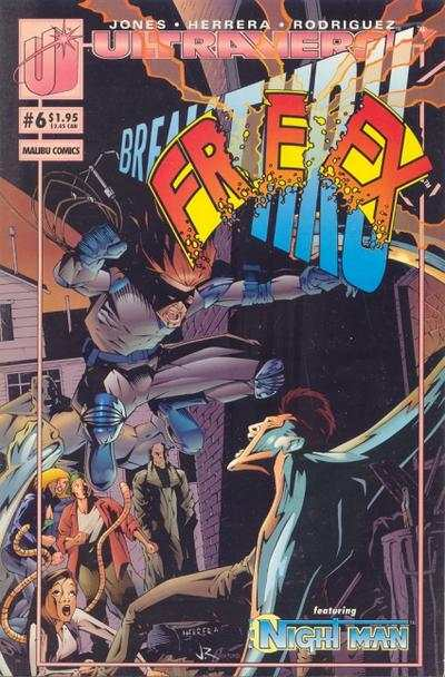 Freex #6 comic books for sale