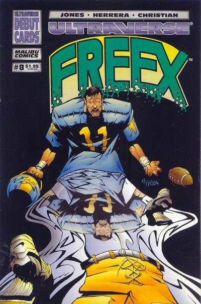 Freex #8 comic books for sale