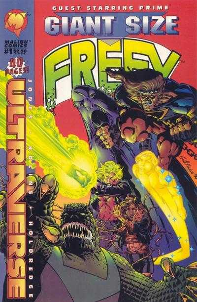 Freex #1 comic books - cover scans photos Freex #1 comic books - covers, picture gallery